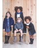 Rebeca punto con capucha de pelo, Ma Petite Lola, marca de moda infantil
