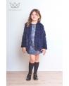 Abrigo de pelo Ma Petite Lola moda infantil