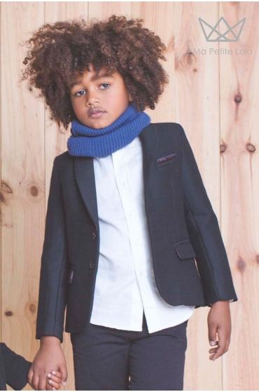 Americana niño color negro Ma Petite Lola