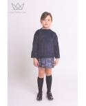 Sudadera niña Ma Petite Lola moda infantil