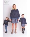Sudadera mamá Blue Camu camuflaje, vestir iguales, minime, Ma Petite Lola