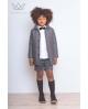 Bermuda gris para niños, Ma Petite Lola, marca moda infantil