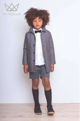Bermuda niño gris