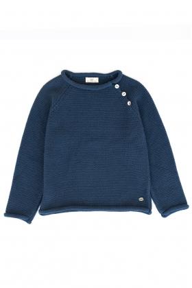 Jersey basic unisex  azul