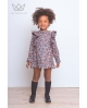 Vestido animal print para niña Ma Petite Lola, moda infantil