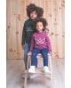 Jersey MA PETITE LOLA moda infantil color morado