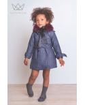Gabardinas para niñas Ma Petite Lola moda infantil