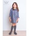 Vestido de flores Ma Petite Lola, Marca de moda infantil made in Spain