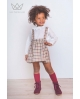 camisa blanca niña Ma Petite Lola moda infantil