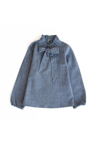 Camisa lazada para niñas de Ma Petite Lola