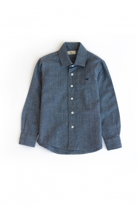Camisa niño denim