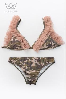Bikini mamá camuflaje