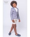 Bermuda niño lino beige Ma Petite Lola