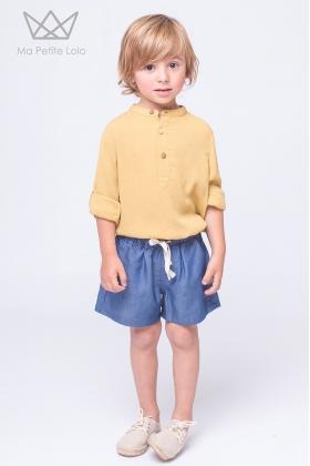 Camisa mao amarillo