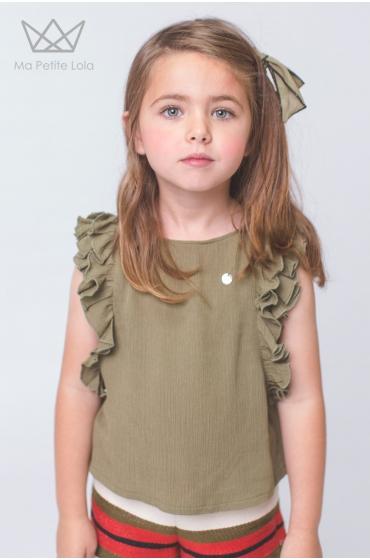 Blusa Granot Verde Ma Petite Lola