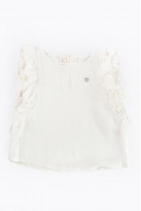 Blusa  blanca niña