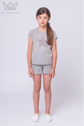 NATURE Camiseta estrella GRIS