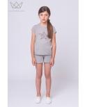 camiseta estrella gris Ma Petite Lola