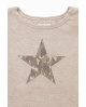 NATURE camiseta estrella BEIGE