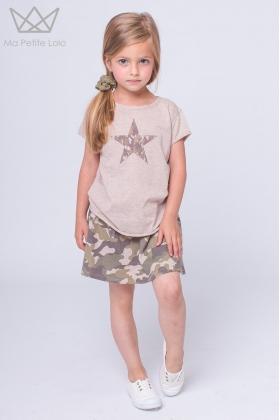 NATURE Camiseta estrella VERDE