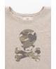 NATURE Camiseta BEIGE calavera