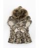 NATURE Vestido camuflaje VERDE con capucha