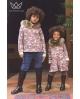 NATURE Vestido camuflaje ROJO con capucha Ma Petite Lola