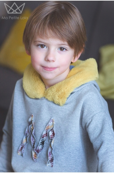 Sudadera Max unisex, Ma Petite Lola moda infantil