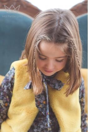 Chaleco pelo amarillo