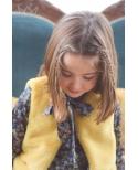 Chaleco pelo amarillo Ma Petite Lola