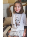 Falda culetín Tipi Ma Petite Lola moda infantil