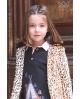 Abrigo leopardo Ma Petite Lola, moda infantil