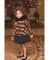 Falda culetín negra Ma Petite Lola