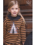 Camisa plumeti negra Ma Petite Lola
