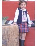 Falda University Ma Petite Lola