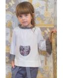 Blusón Serpent Ma Petite Lola, moda infantil