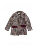 Abrigo tweed Kale  Ma Petite Lola, moda infantil