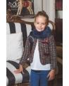 Chaqueta Lola tweed Kale  Ma Petite Lola, moda infantil