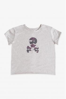 NATURE Camiseta ROJA calavera