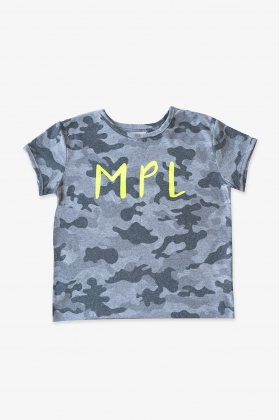 NATURE Camiseta MPL camuflaje GRIS