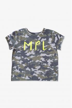 NATURE Camiseta MPL camuflaje VERDE