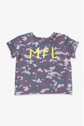 NATURE Camiseta MPL camuflaje ROJO