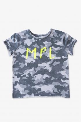 NATURE Camiseta MPL camuflaje NEGRA