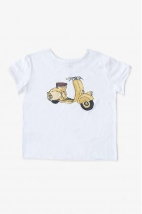VESPA camiseta amarilla unisex