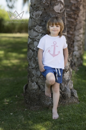 SUMMER TIME Camiseta Ancla