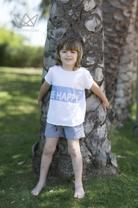 Camiseta Be Happy