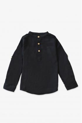 Camisa Mao Negra unisex