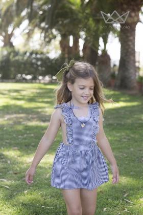 Vestido Pichi Vichy niña