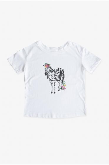 MACARET Camiseta Cebra mamá