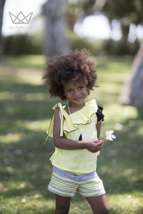 Short Macaret niña